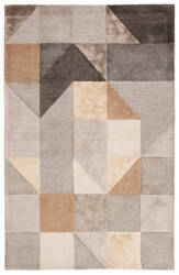 Jaipur Living Syntax Penta Syn01 Gray - Gold Area Rug