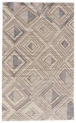 Jaipur Living Traditions Made Modern Premium Nimbus Tmp01 Major Brown - Lead Gray Area Rug