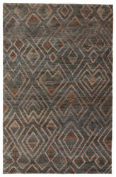 Jaipur Living Traditions Made Modern Select Raffia Cloth Tms03 Atlantic Deep - Dark Forest Area Rug