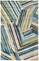 Custom Jaipur Living Traverse Pick-Up-Sticks Tv59 Brittany Blue - Moroccan Blue Area Rug