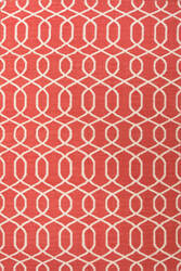 Jaipur Living Urban Bungalow Sabrine Ub28 Mars Red - Turtledove Area Rug