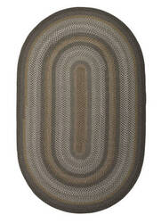 Jaipur Living Ultra Durable Braided Rugs Dover Ubr03 Darkest Spruce - Steel Gray Area Rug
