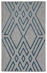 Jaipur Living Unika By Nikki Chu Tasma Una07 Gray - Blue Area Rug
