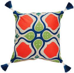 Jaipur Living Verdigris Pillow Alleana Ved04 Multicolor - Beige