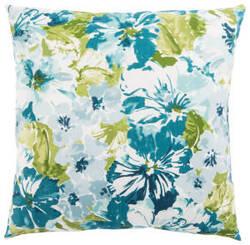 Jaipur Living Veranda Pillow Summer Garden Ver129 Teal - Green