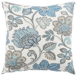 Jaipur Living Veranda Pillow Busan Ver137 White - Blue