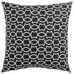 Jaipur Living Veranda Pillow Titan Ver139 Black - White