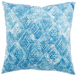 Jaipur Living Veranda Pillow Darrow Fresco Ver142 White - Blue