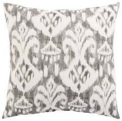 Jaipur Living Veranda Pillow Rivoli Fresco Ver149 Gray - White