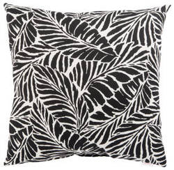 Jaipur Living Veranda Pillow Malkus Fresco Ver156 Black - White