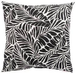 Jaipur Living Veranda Pillow Malkus Fresco Ver156 Black - White