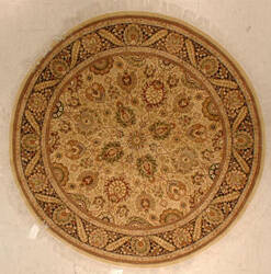 J. Aziz 16-18 Shah Abbas 1602 Lem-Blk 86808 Area Rug