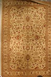 J. Aziz Antiqued Jaipur 800-Mq Whi- 86845 Area Rug