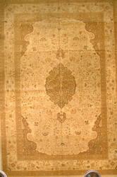 J. Aziz Haj Jalili V-1707 Ivory / Olive Area Rug