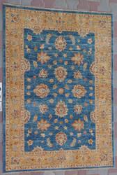 J. Aziz Peshawar Ult-746 Blue-Gold 87030 Area Rug