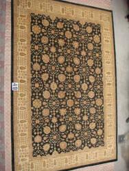 J. Aziz Peshawar Ult-110 Black-Beige 86928 Area Rug