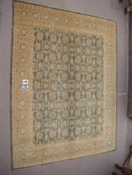 J. Aziz Peshawar Ult-715 Gray-SoftBlue 87027 Area Rug