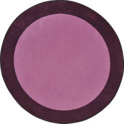Joy Carpets Kid Essentials All Around Purple Area Rug