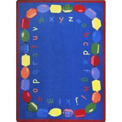 Joy Carpets Kid Essentials Baby Beads Multi Area Rug