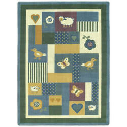 Joy Carpets Kid Essentials Baby Love Soft Area Rug