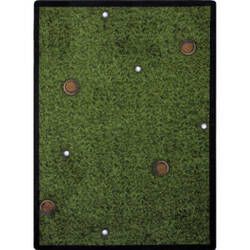 Joy Carpets Games People Play Back Nine Multi Area Rug