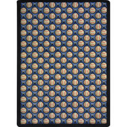 Joy Carpets Games People Play Bases Loaded Clear Skies Area Rug
