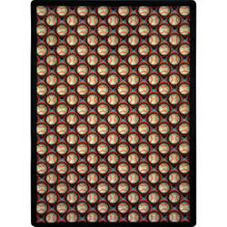 Joy Carpets Games People Play Bases Loaded Night Game Area Rug