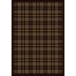 Joy Carpets Kaleidoscope Bit O' Scotch Bark Brown Area Rug