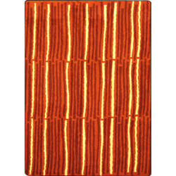 Joy Carpets Kid Essentials Cascade Orange Area Rug