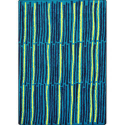 Joy Carpets Kid Essentials Cascade Teal Area Rug