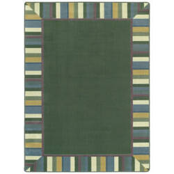 Joy Carpets Kid Essentials Clean Green Soft Area Rug