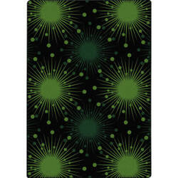 Joy Carpets Kaleidoscope Cosmopolitan Green Area Rug