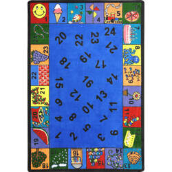 Joy Carpets Kid Essentials Count On Me Multi Area Rug