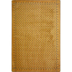Joy Carpets Kaleidoscope Diamond Plate Gold Area Rug