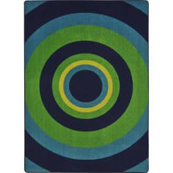 Joy Carpets Kid Essentials Fascinate Navy Area Rug