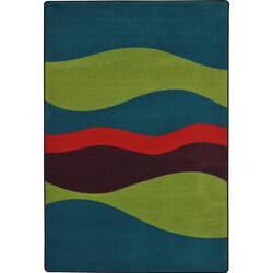 Joy Carpets Kid Essentials Flow Tropics Area Rug