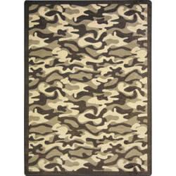 Joy Carpets Kaleidoscope Funky Camo Desert Area Rug