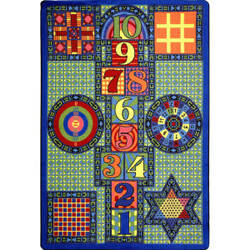 Joy Carpets Kid Essentials Games Galore Multi Area Rug