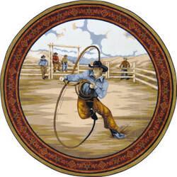 Joy Carpets Cowboy Carpets La Riata Multi Area Rug