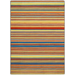 Joy Carpets Kid Essentials Latitude Aztec Area Rug