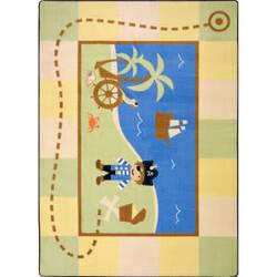 Joy Carpets Kid Essentials Lil' Pirate Multi Area Rug