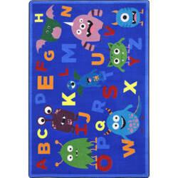 Joy Carpets Kid Essentials Monster Mash Multi Area Rug