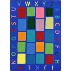 Joy Carpets Kid Essentials My Space Multi Area Rug