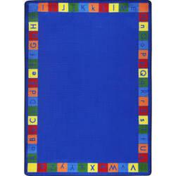 Joy Carpets Kid Essentials Primarily Alphabett Multi Area Rug