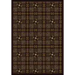 Joy Carpets Games People Play Saint Andrews Bark Brown Area Rug
