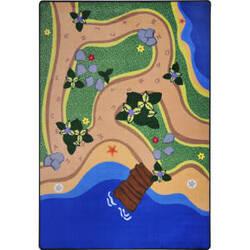 Joy Carpets Kid Essentials Sandy Shores Multi Area Rug