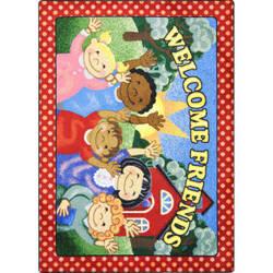Joy Carpets Kid Essentials School Days Multi Area Rug
