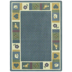 Joy Carpets Kid Essentials Seeing Spots Soft Area Rug
