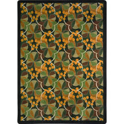 Joy Carpets Kaleidoscope Shamrock Multi Area Rug