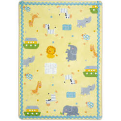 Joy Carpets Kid Essentials Simply Noah Multi Area Rug